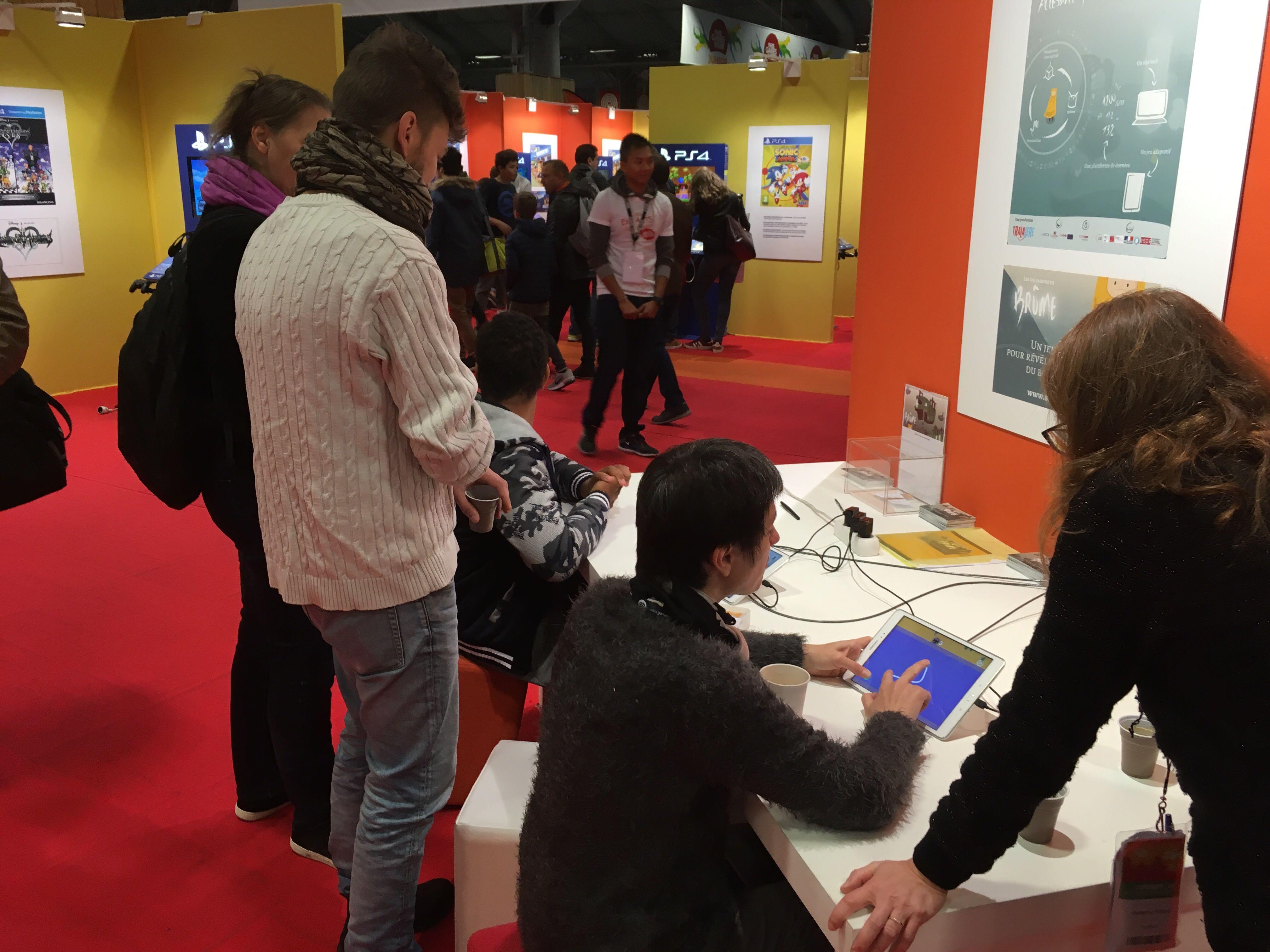 Venez tester Brûme à la Paris Games Week !